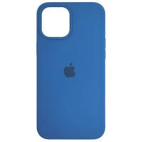 Чехол Copy Silicone Case iPhone 12 Pro Max Azure (38)
