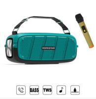 Портативна колонка Hopestar A20 PRO + мікрофон (Блакитний)