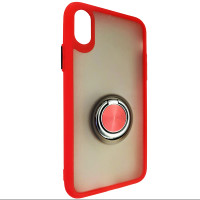 Чохол Totu Copy Ring Case iPhone X/XS Red+Black