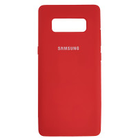 Чохол Silicone Case for Samsung Note 8 Red (14)