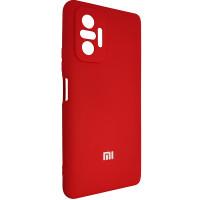 Чохол Silicone Case for Xiaomi Redmi Note 10 Pro Red (18)