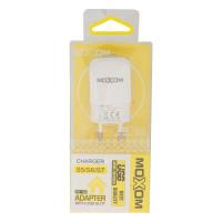 Мережевий Зарядний Пристрій Moxom KH-06 Micro White
