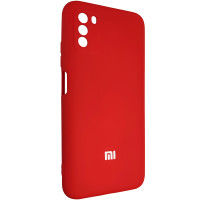 Чохол Silicone Case for Poco M3 Red (14)