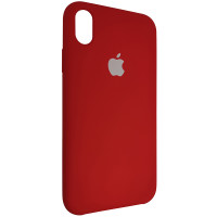 Чохол Copy Silicone Case iPhone XR China Red (33)
