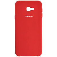 Чохол Silicone Case for Samsung J415 Red (14)