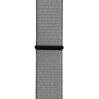 Ремінець для Apple Watch (42-44mm) Sport Loop Nike Silver/Black