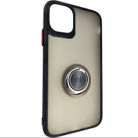 Чохол Totu Copy Ring Case iPhone 11 Black+Red
