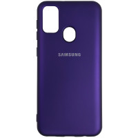 Чохол Silicone Case for Samsung M21/M30s Purple (30)