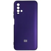Чехол Silicone Case for Xiaomi Redmi 9T Purple (30)