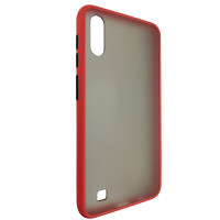 Чехол Totu Copy Gingle Series for Samsung A10 Red+Black