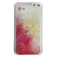 Чохол Silicone Water Print iPhone 7/8 Mix Color Yellow