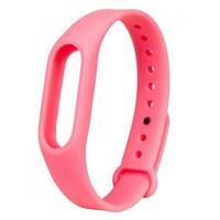 Ремінець для фітнес браслету Mi Band 2 (Silicon) Pink