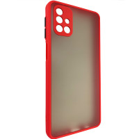 Чехол Totu Camera Protection для Samsung M31s Red