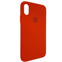 Чохол Copy Silicone Case iPhone X/XS Red (14)