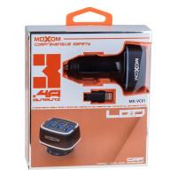 Автомобільний Зарядний Пристрій Moxom MX-VC01 Lightning 3USB Black
