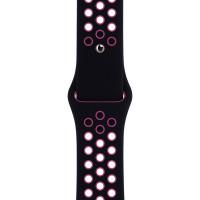 Ремінець для Apple Watch (42-44mm) Nike Sport Band Black/Pink