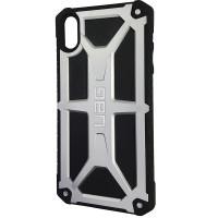 Чехол UAG Monarch iPhone XS Max Silver (HC)