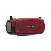 Портативна колонка Hopestar A20 PRO + мікрофон (Червоний)