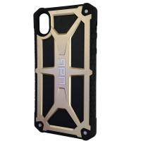Чехол UAG Monarch iPhone XR Gold (HC)