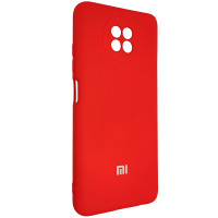 Чохол Silicone Case for Xiaomi Redmi Note 9T Red (18)