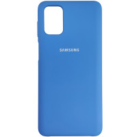 Чохол Silicone Case for Samsung M31s Blue (3)