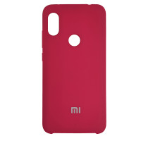 Чохол Silicone Case for Xiaomi Redmi Note 6 Deep Red (42)