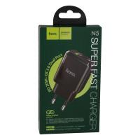 Мережевий Зарядний Пристрій Hoco N5 PD20W+QC3.0 Black