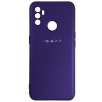 Чехол Silicone Case for Oppo A53 Purple (30)