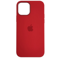 Чохол HQ Silicone Case iPhone 12/12 Pro Red (без MagSafe)